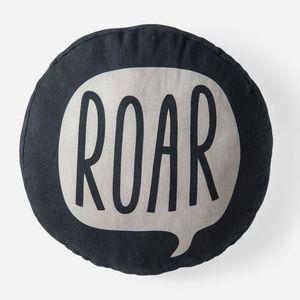 Roar Message Pillow
